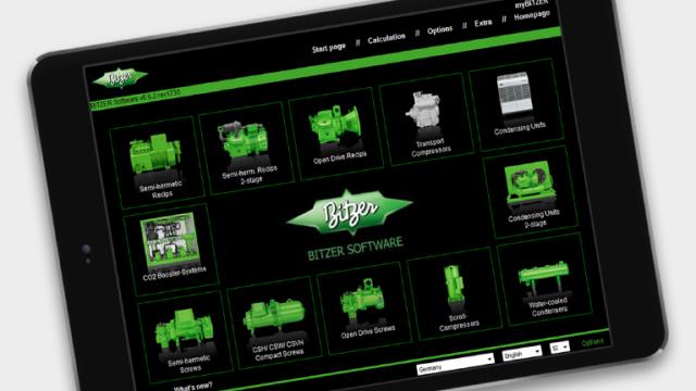 Программа подбора оборудования BITZER